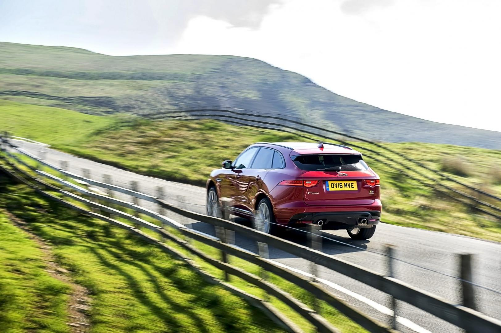 Jaguar F-Pace vs de concurrentie
