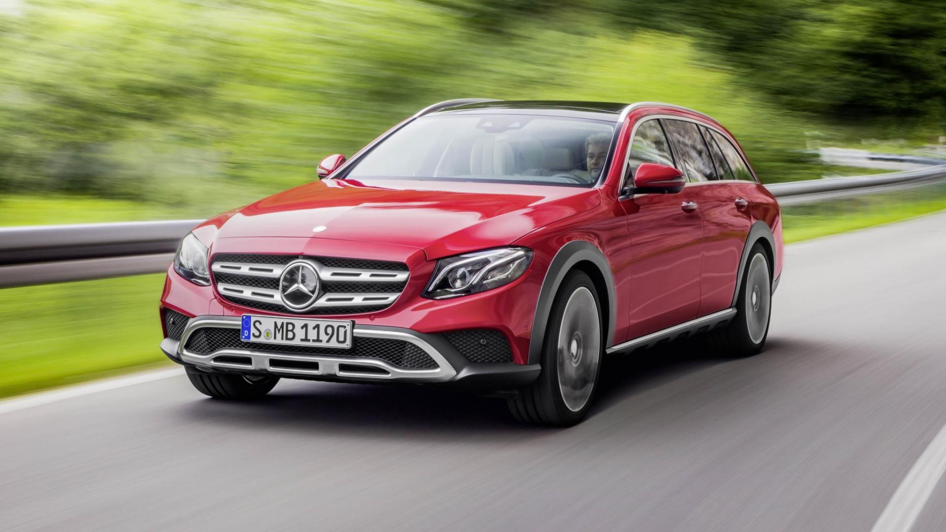 De Mercedes E Klasse All Terrain Is Laat Topgear