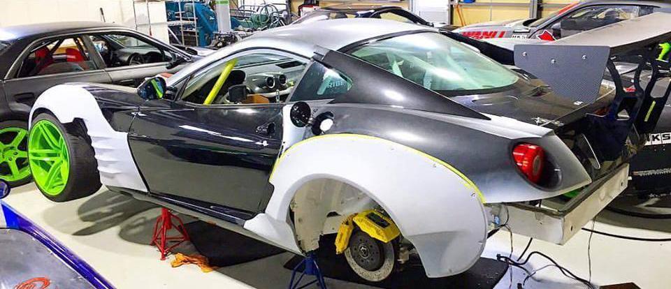 ferrari 599 driftauto