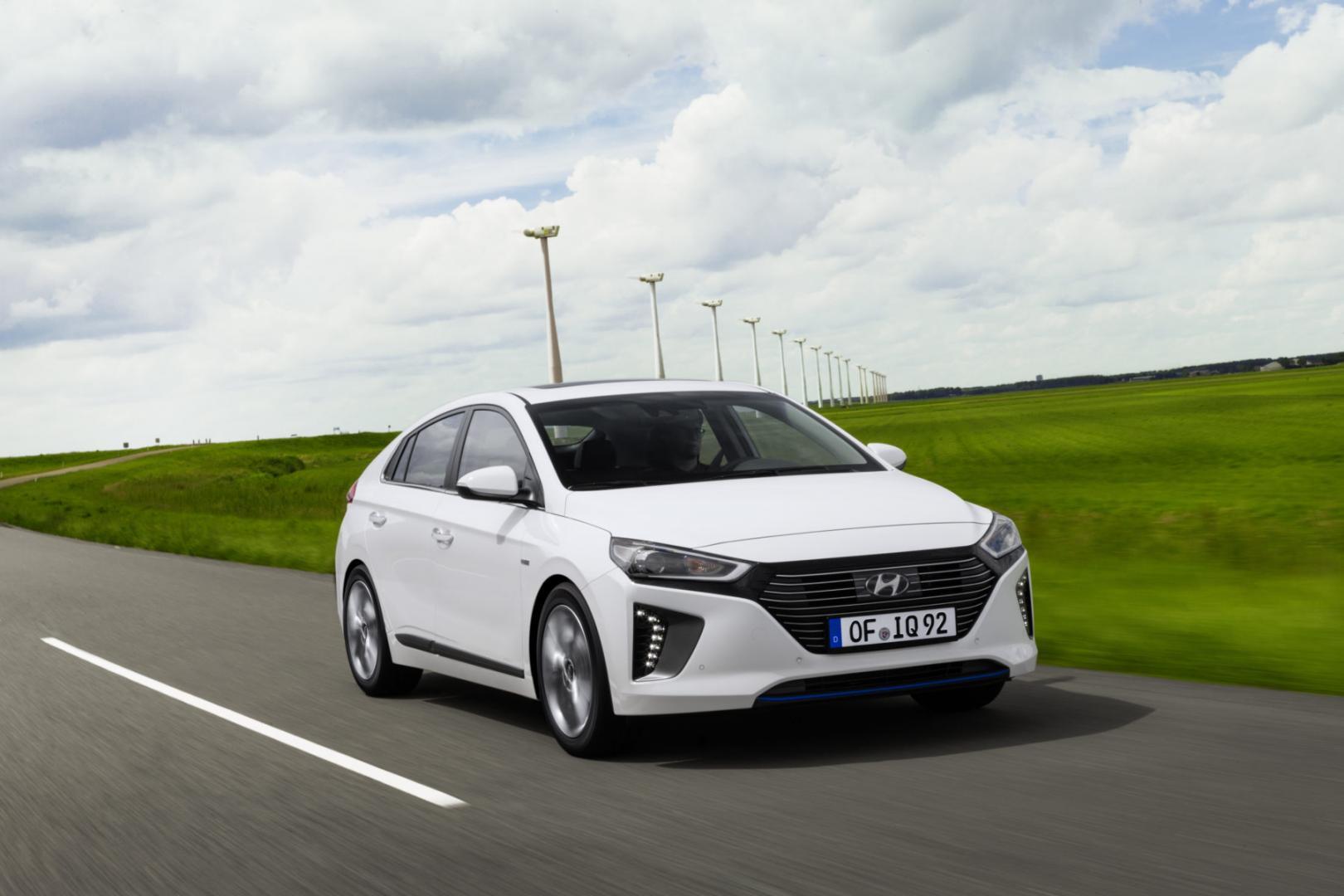 Hyundai ioniq verbruik
