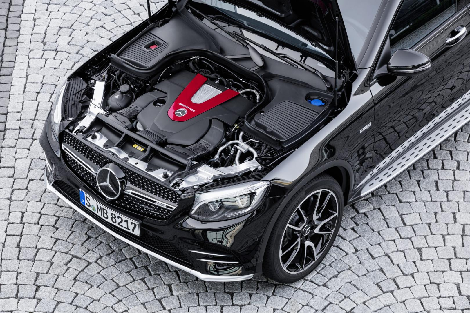 Mercedes-AMG GLC 43 Coupe motor