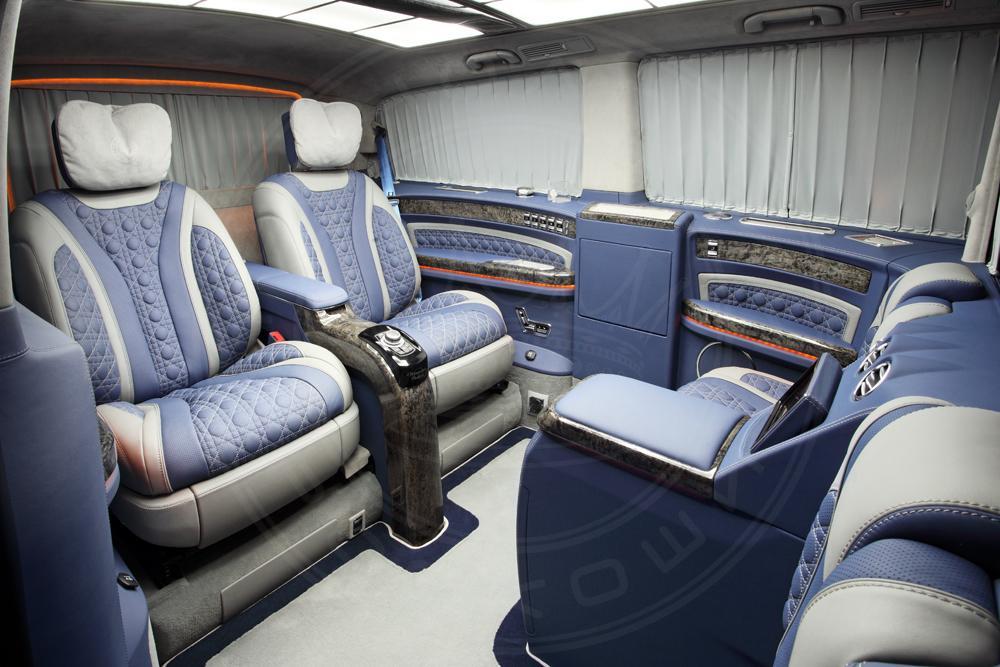 Mercedes v klasse black crystal is een priv jet op wielen for Mercedes classe v interieur