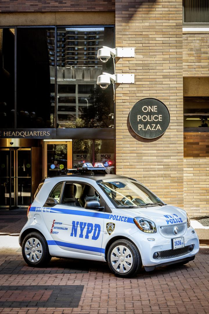 smart fortwo politie new york