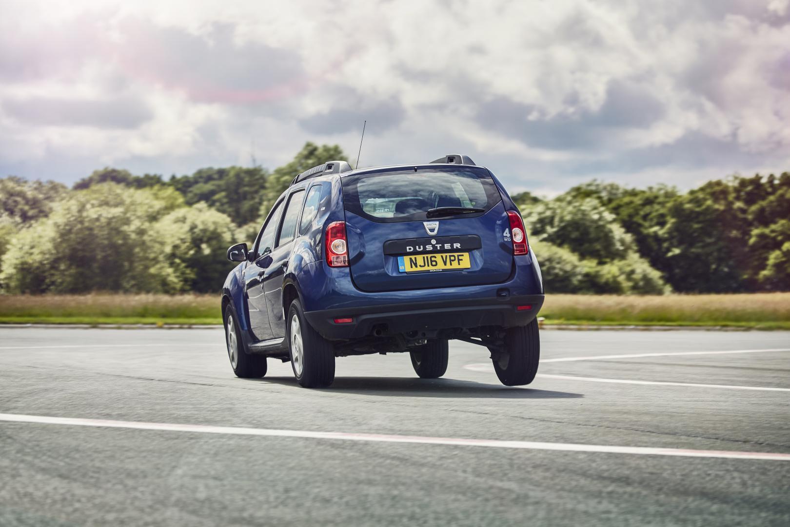 TopGear Gids voor Pret: bruikbaarheid (Dacia Duster)