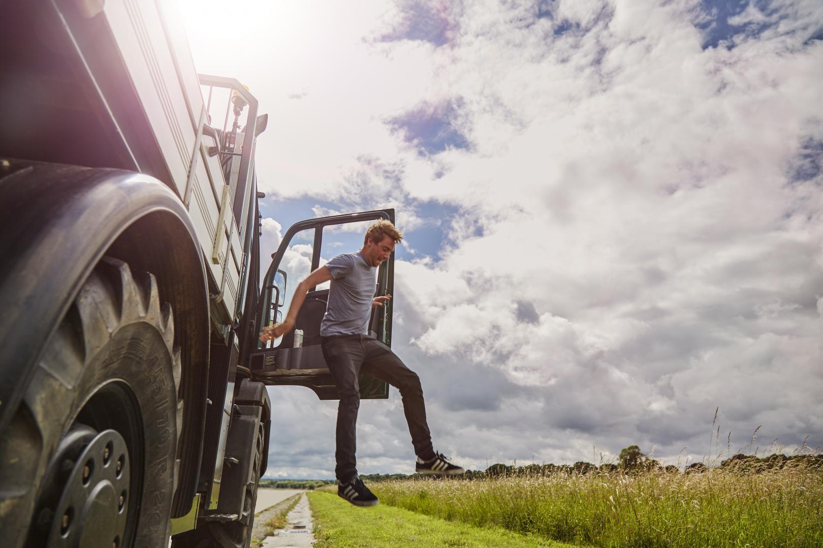 TopGear Gids voor Pret: bruikbaarheid (Mercedes Unimog)