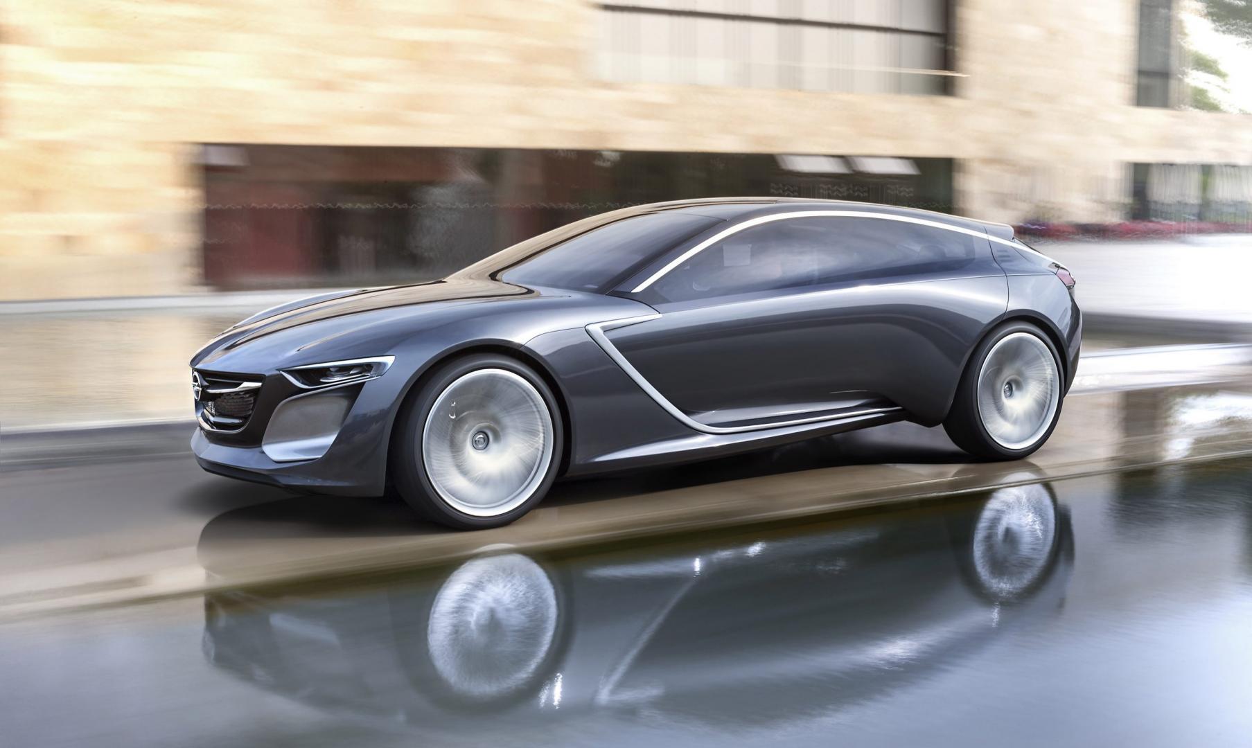 Nieuwe Opel Insignia - de Monza Concept uit 2013