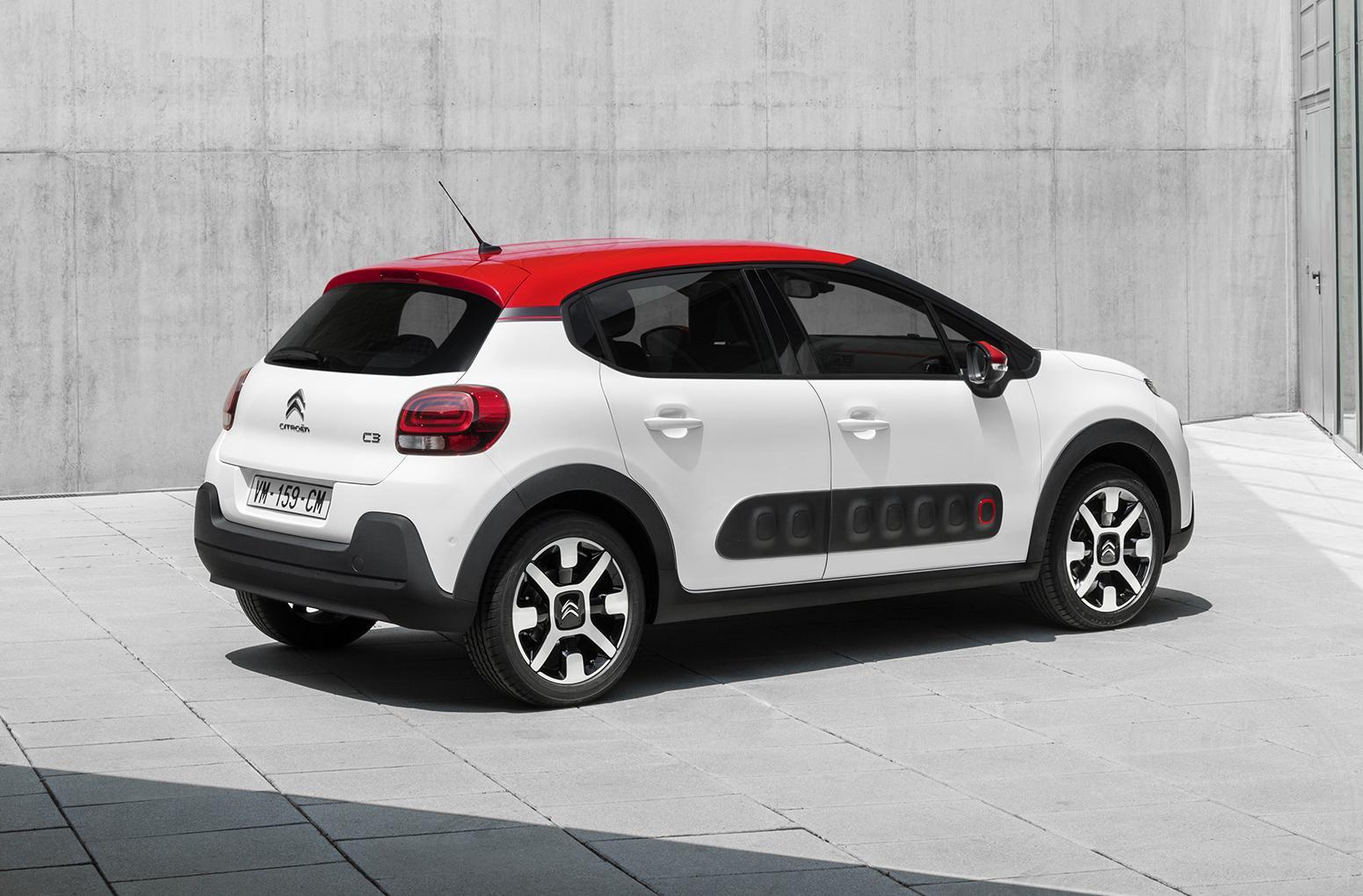 De nieuwe Citroën C3