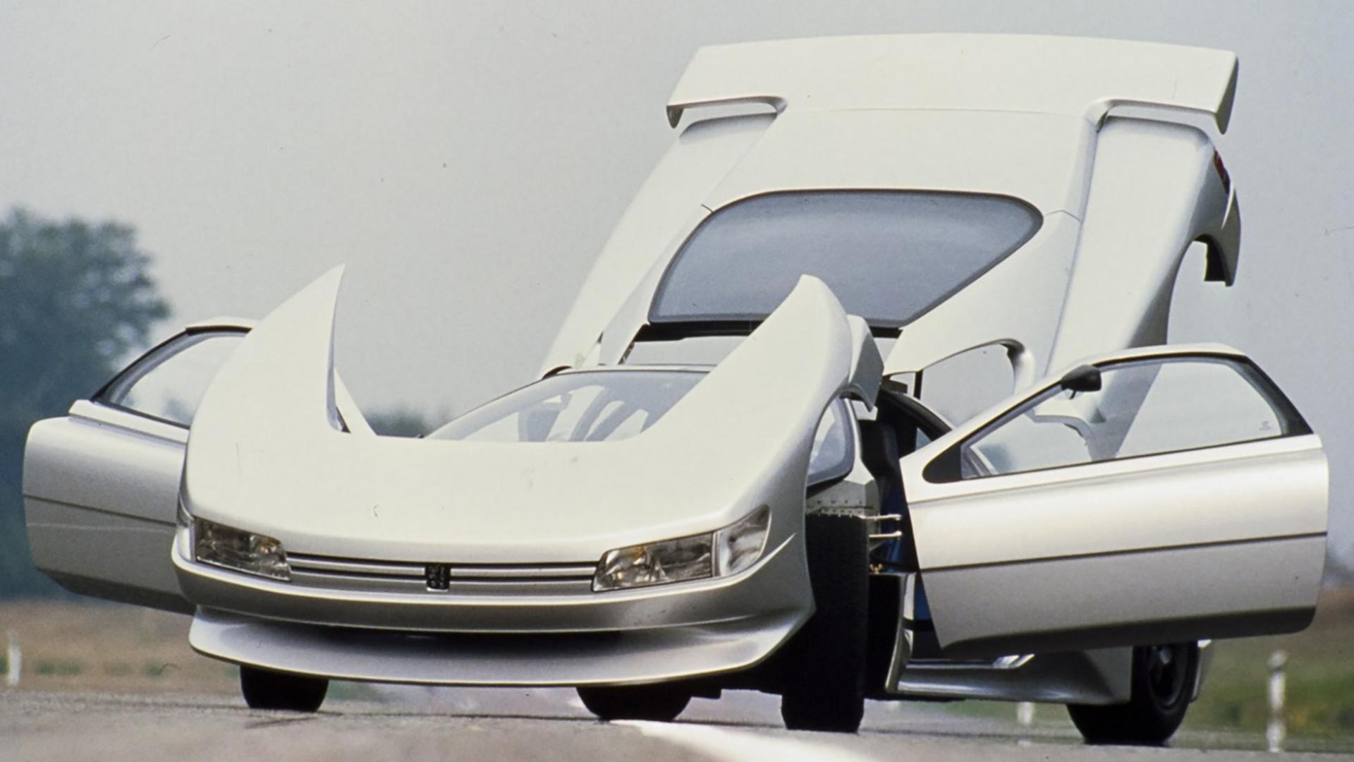 open klappen Peugeot Oxia
