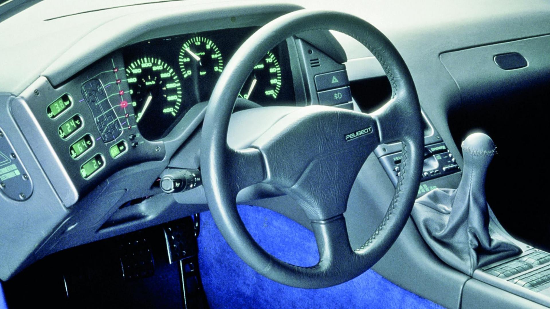 Interieur Peugeot Oxia