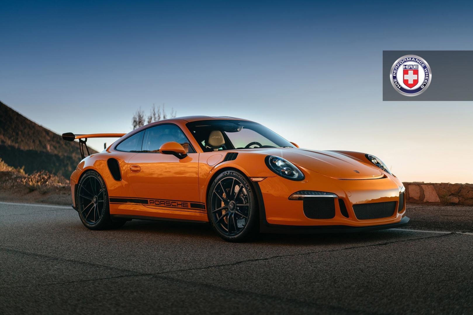 Porsche 911 GT3 RS op HRE P104