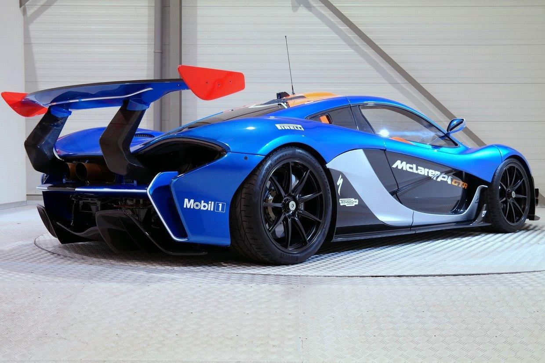Straatlegale McLaren P1 GTR
