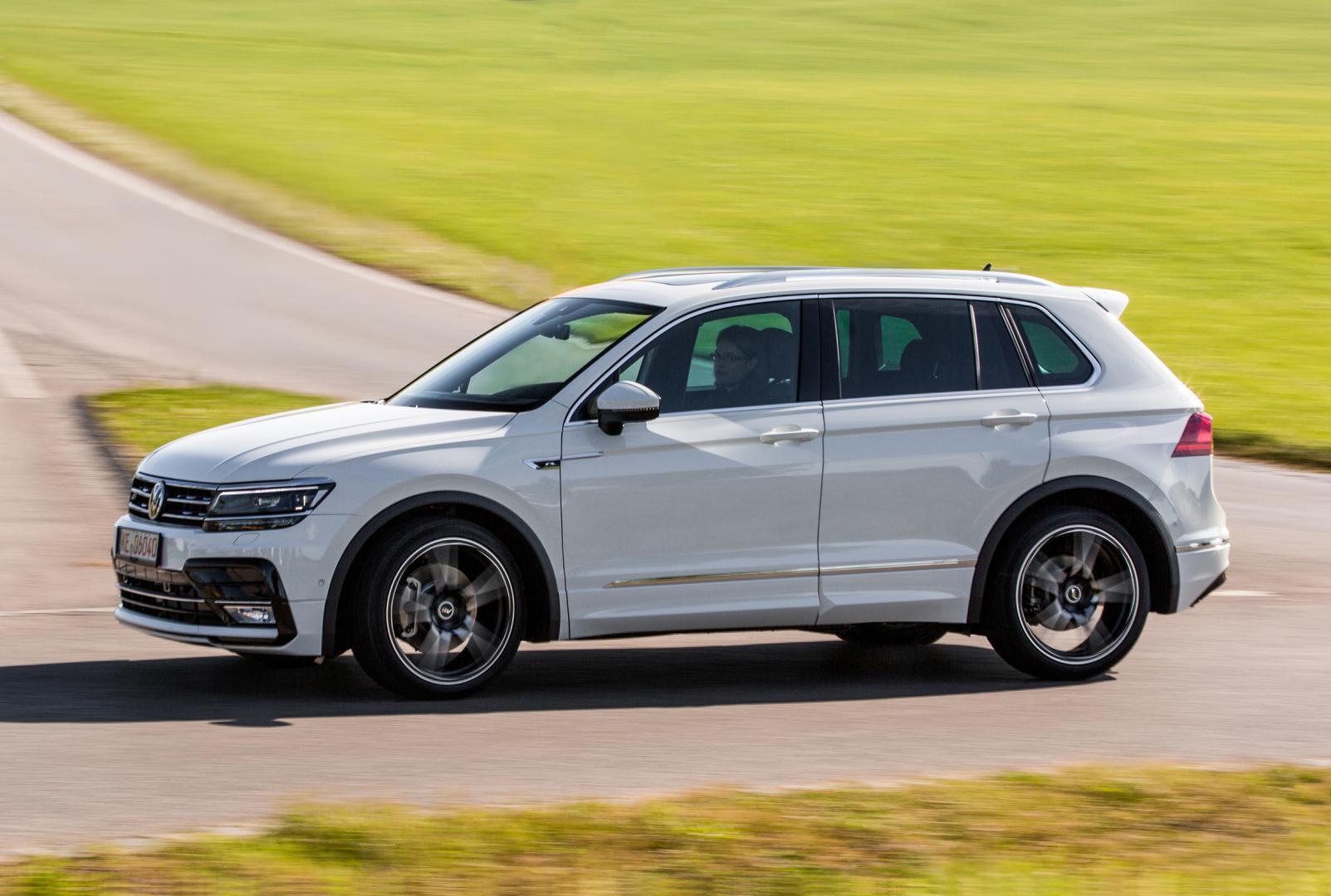 Volkswagen Tiguan Abt Stelt Teleur Slechts 36 Pk Extra