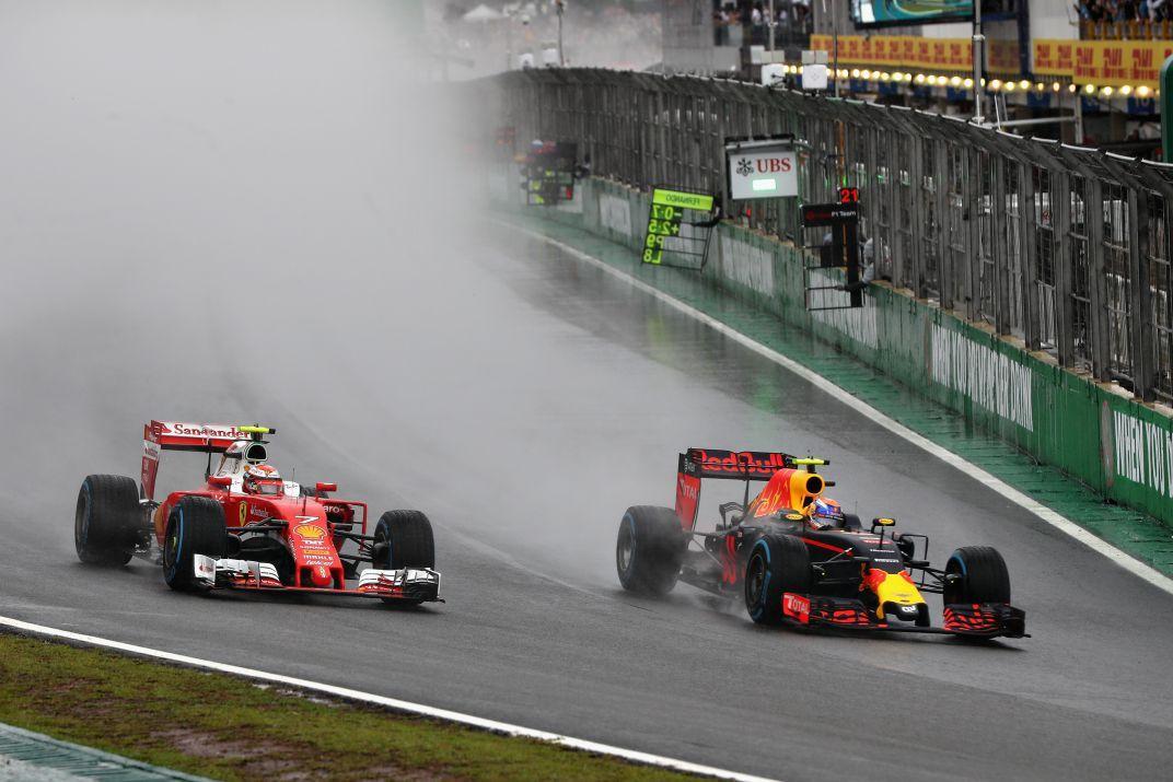 Uitslag van de GP van Brazilië