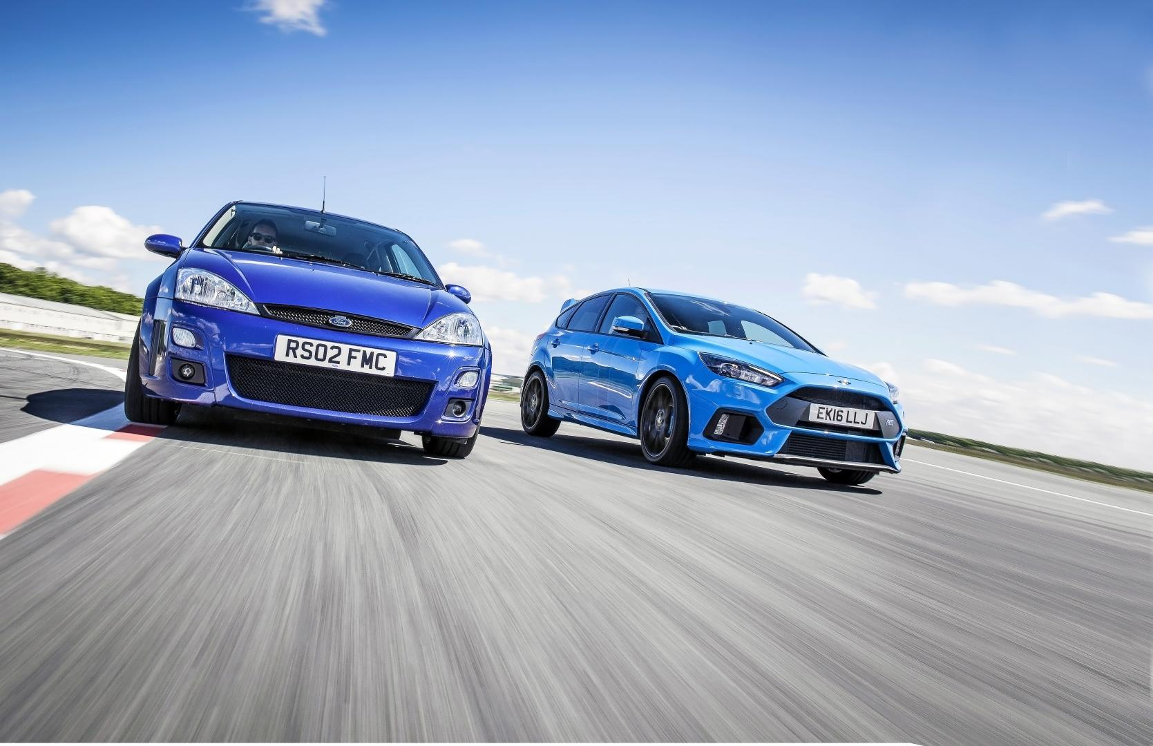 Evolutie Ford Focus RS