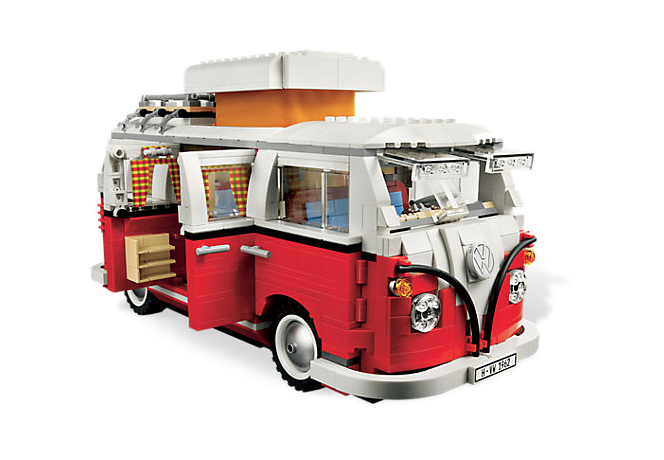 vw bus van lego blokjes bulli topgear. Black Bedroom Furniture Sets. Home Design Ideas