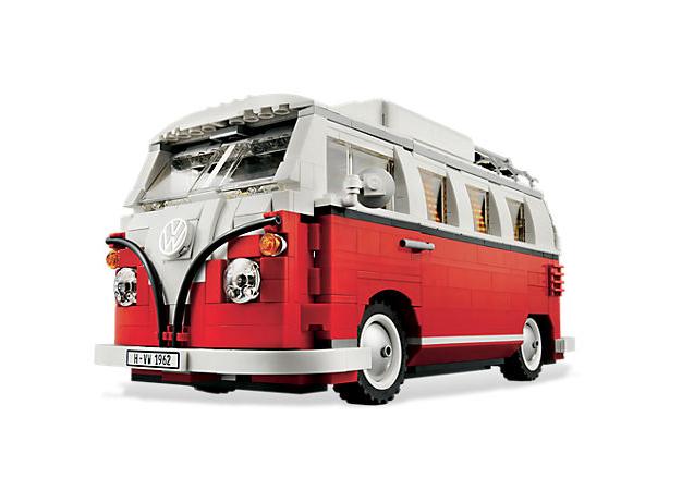 vw bus van lego blokjes bulli topgear. Black Bedroom Furniture Sets. Home Design Ideas