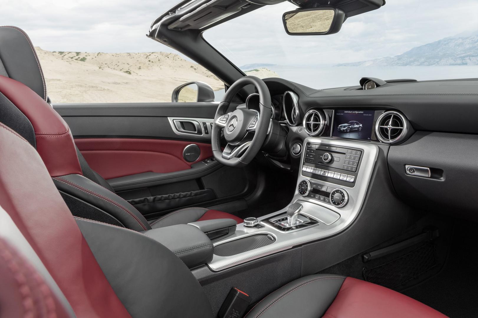 Mercedes SLC 180 interieur (2016)
