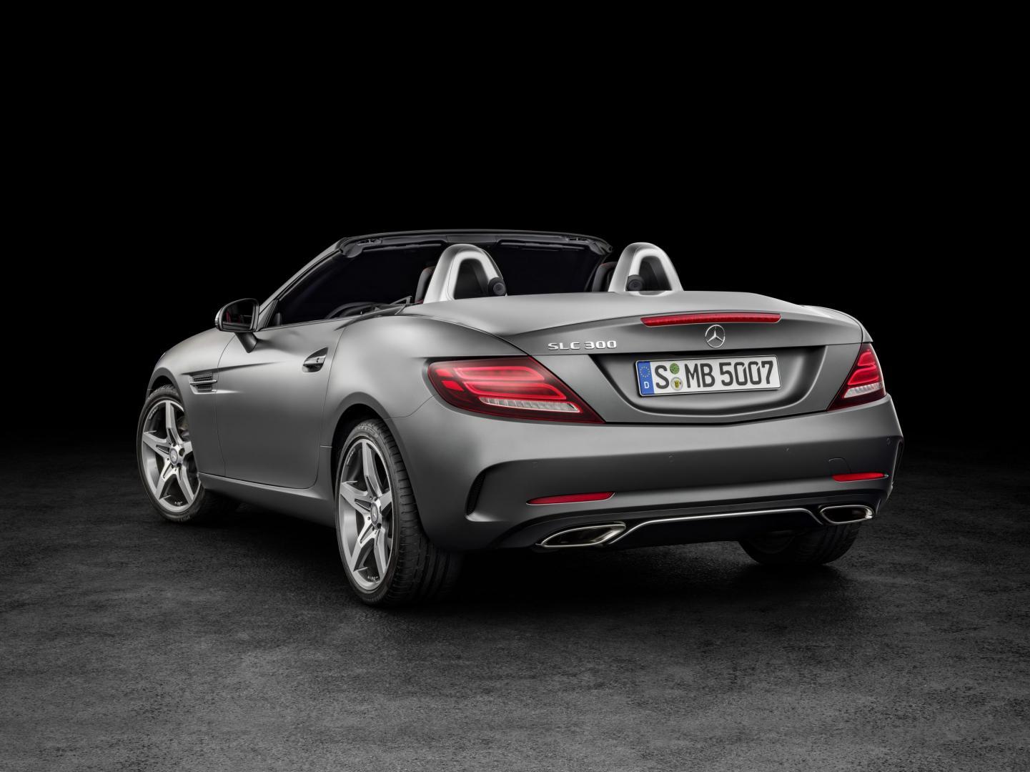 Mercedes SLC 180 (2016)