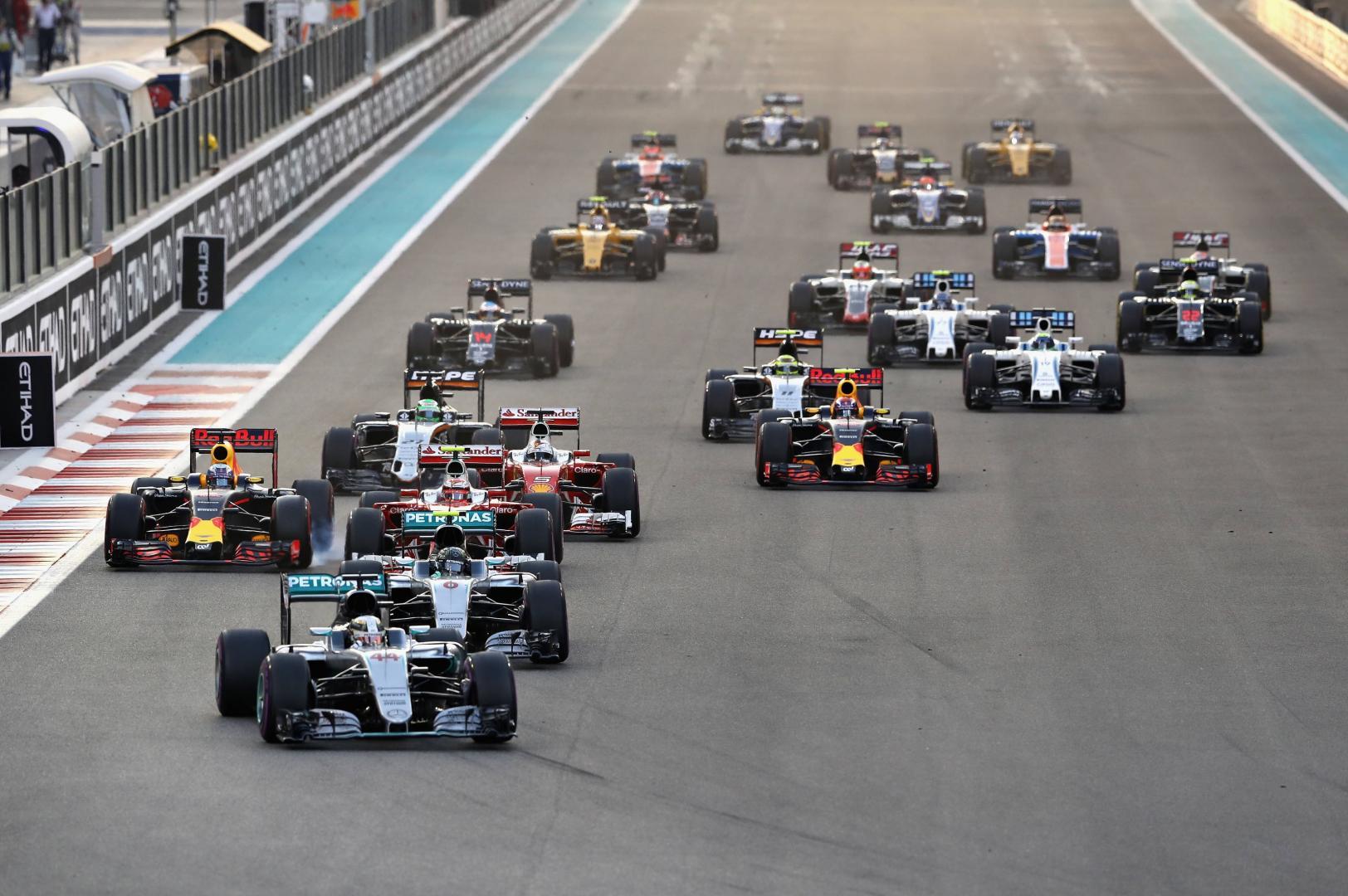 Formule 1 Kalender 2017