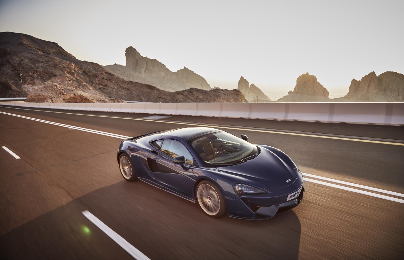 McLaren 570S Jebel Hafeet