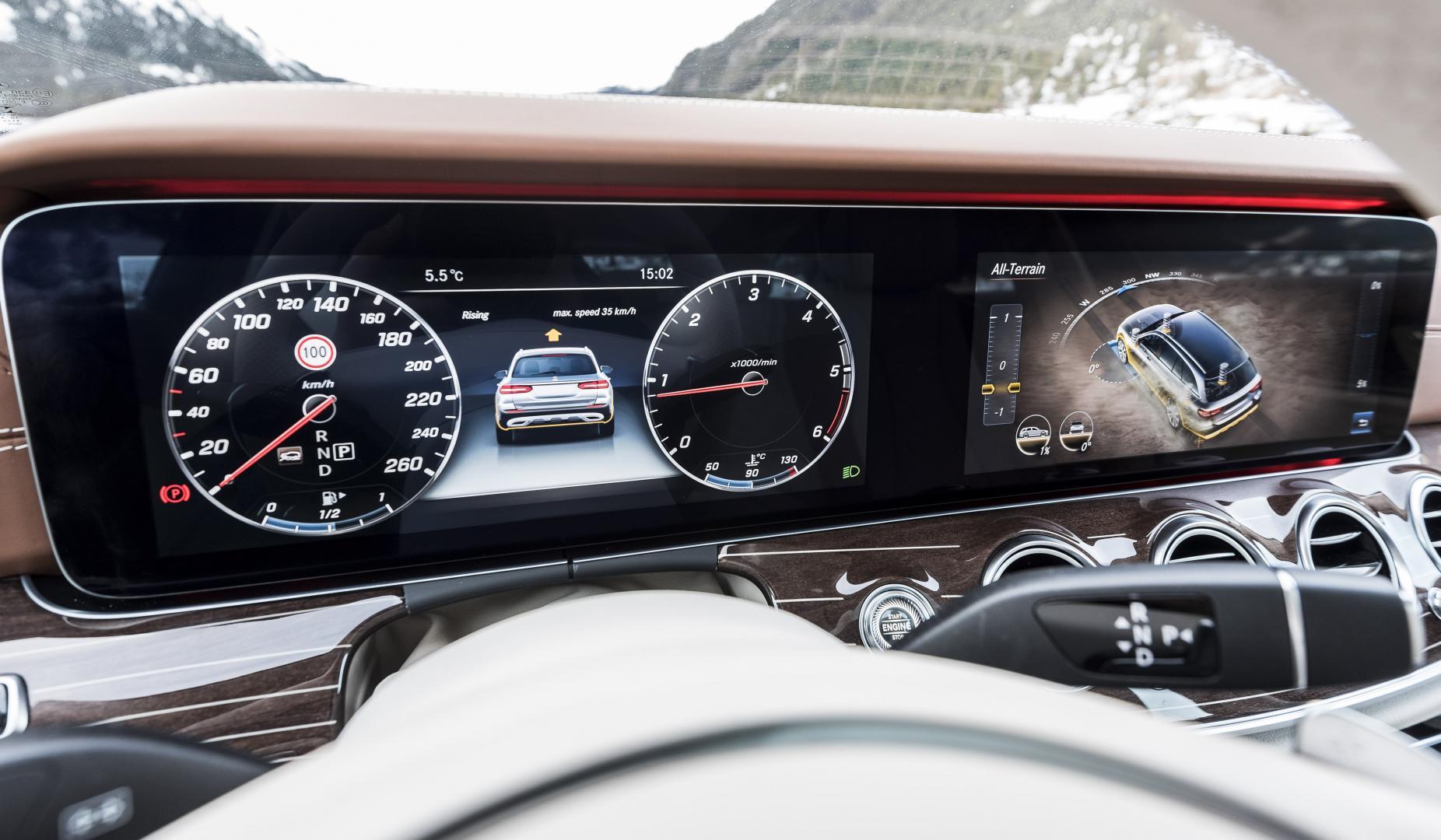 Topgear Probeert De Mercedes E Klasse All Terrain In