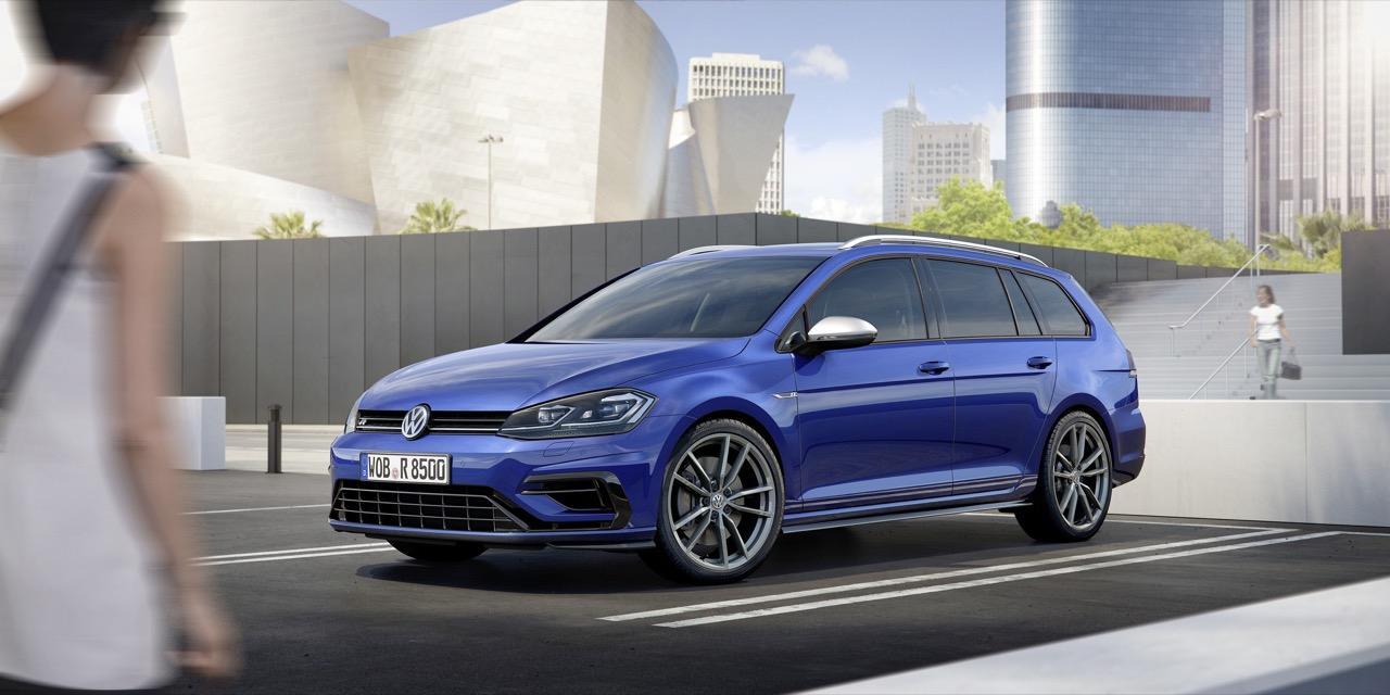 Vernieuwde Volkswagen Golf R Variant