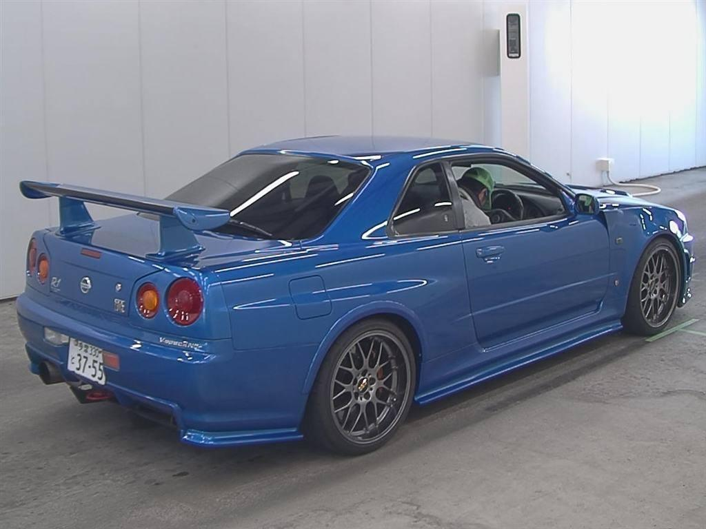 Nissan Skyline R34 Gt R V Spec Nismo Reviews Nissan