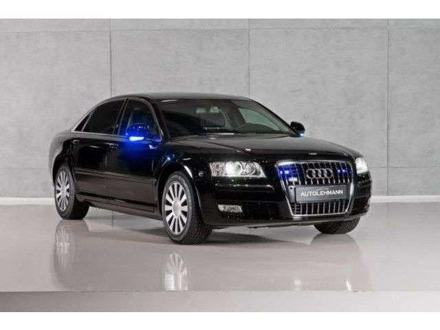 Audi A8 W12 Security