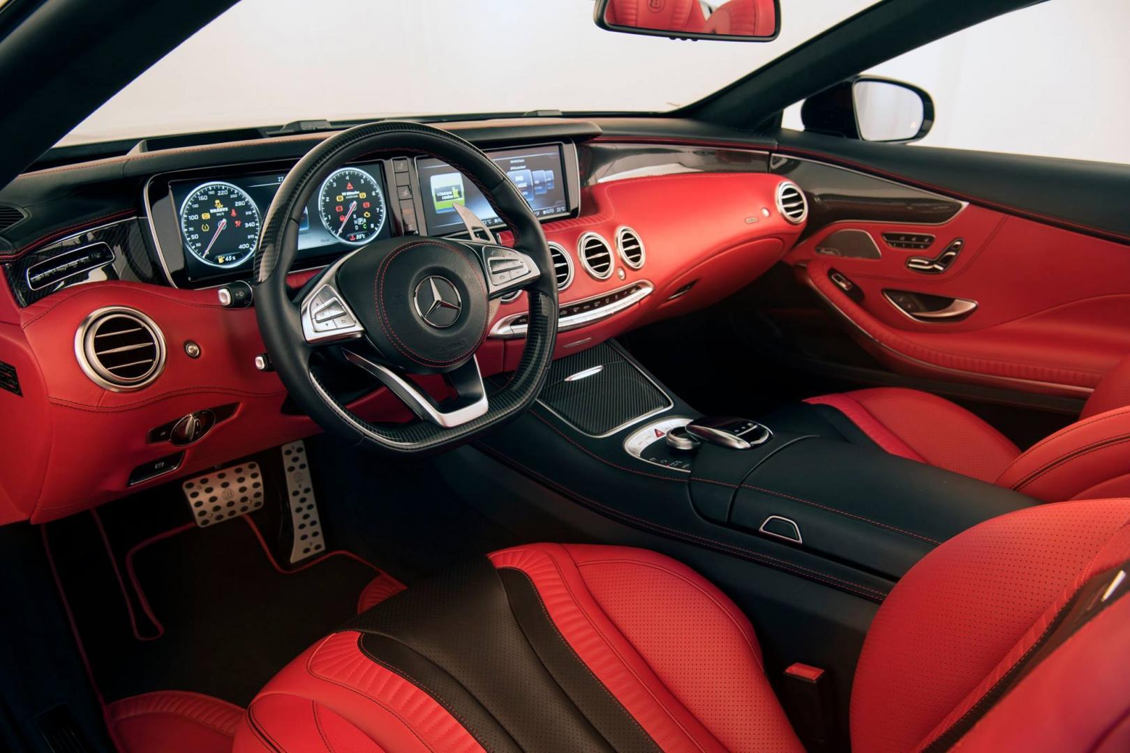 Brabus 850 cabriolet heeft een nieuw interieur topgear for Auto interieur reinigen zelf