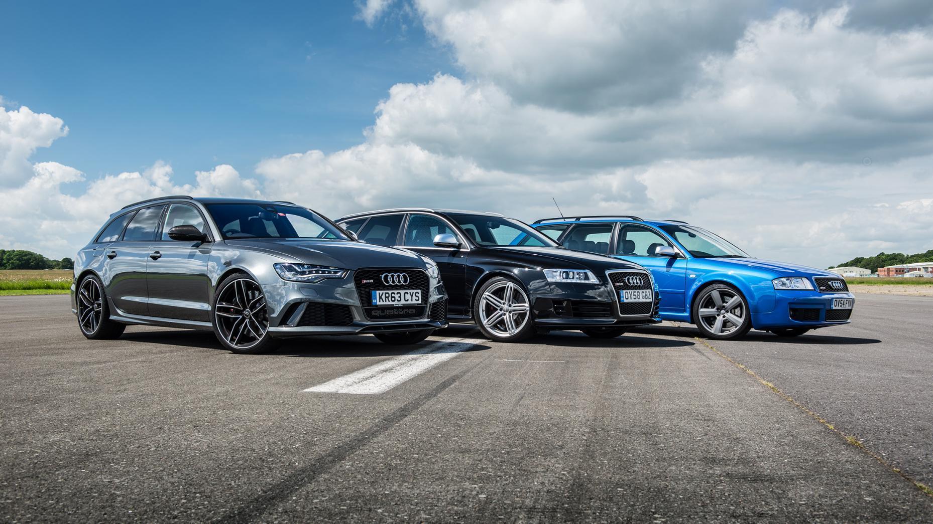Alle generaties Audi RS 6 C5 C6 C7