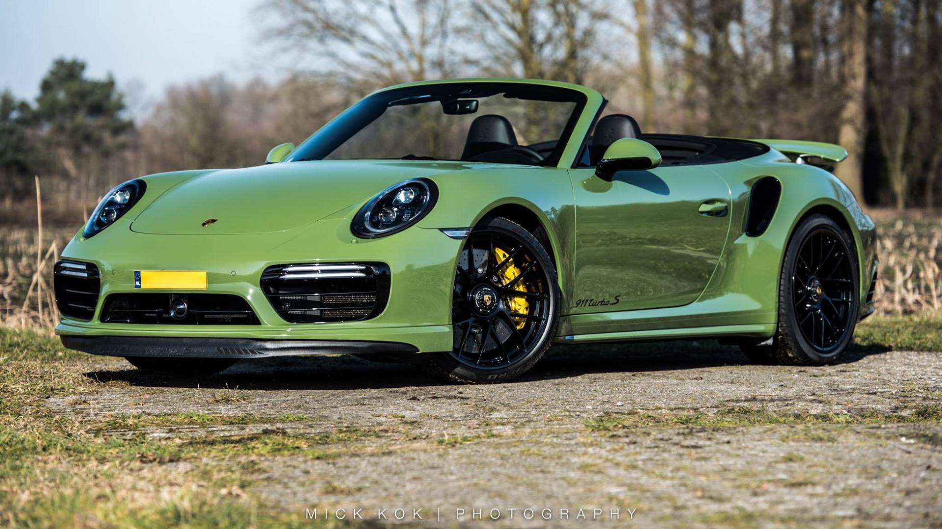 dikste Porsche 911 Turbo S van Nederland