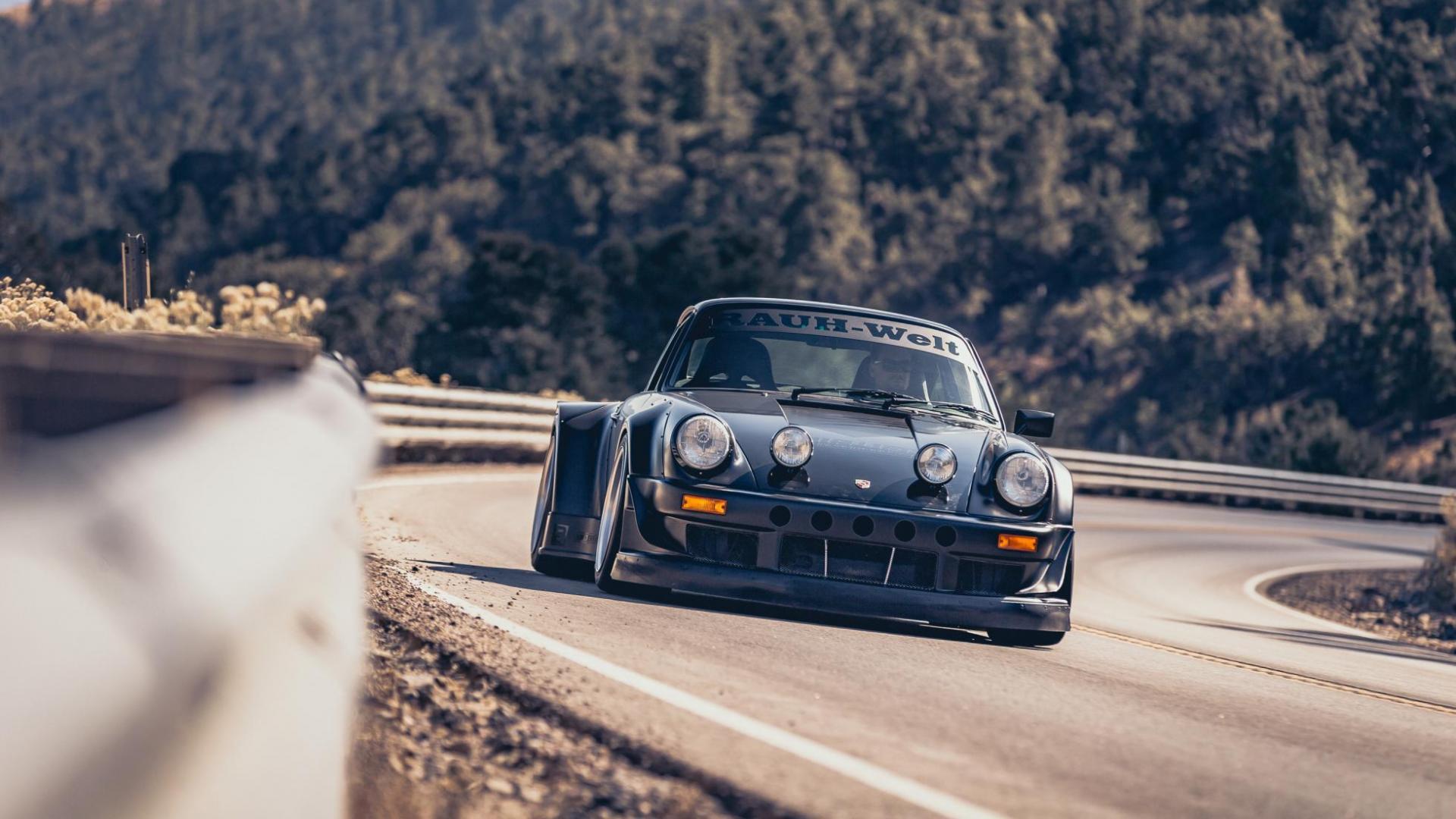 Porsche 964 van bisimoto