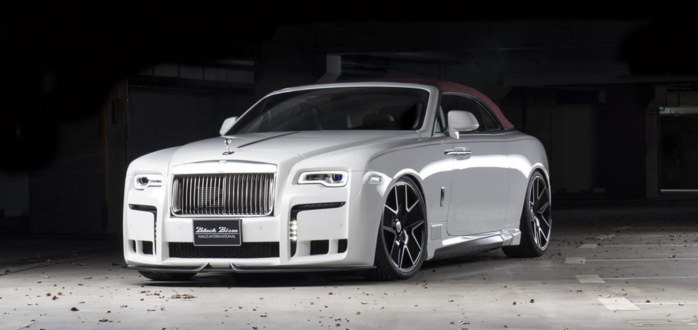 Rolls Royce Dawn Black Bison Is De Wanhoop Nabij Topgear