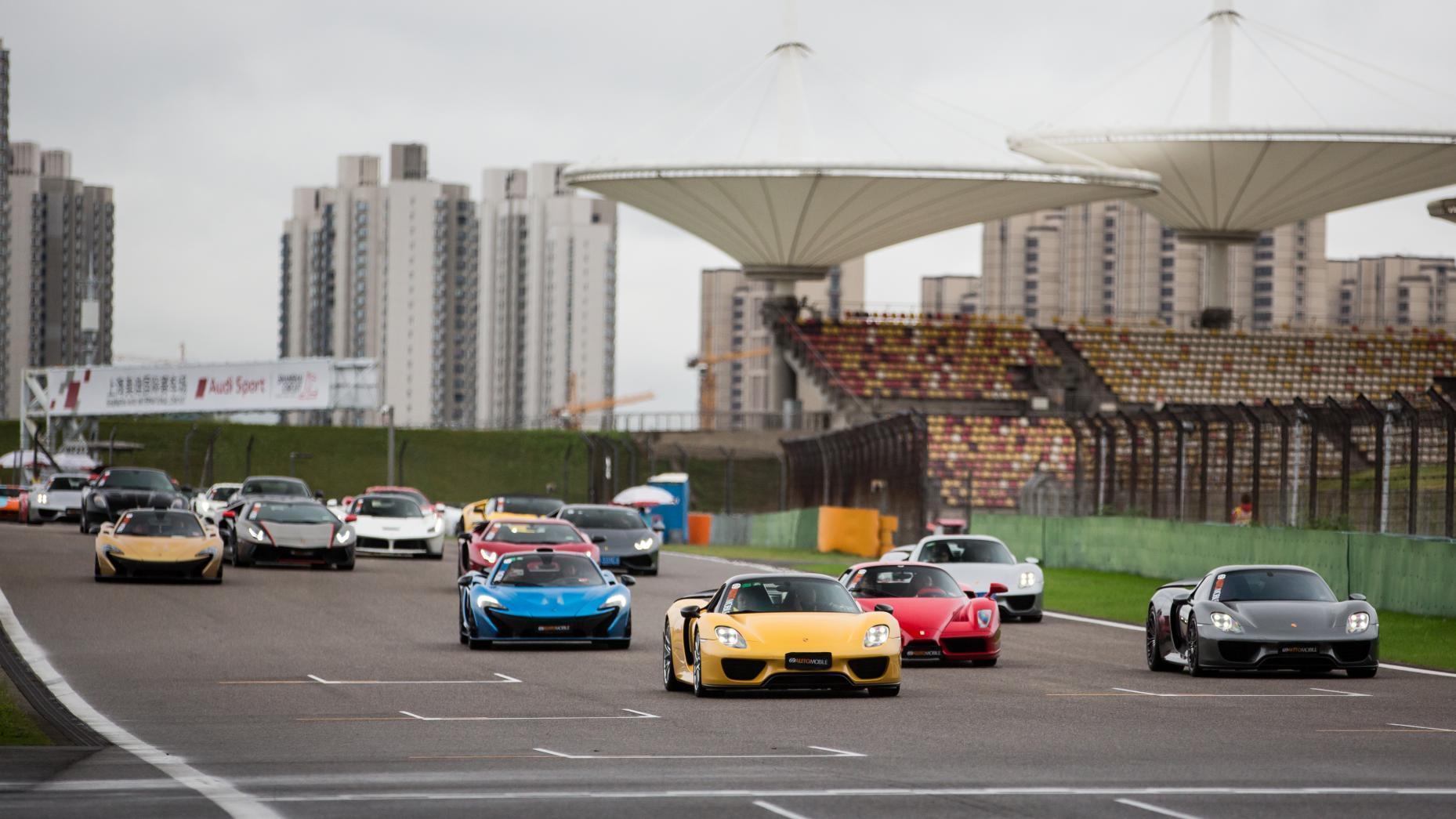 beste trackday ter wereld shanghai international circuit