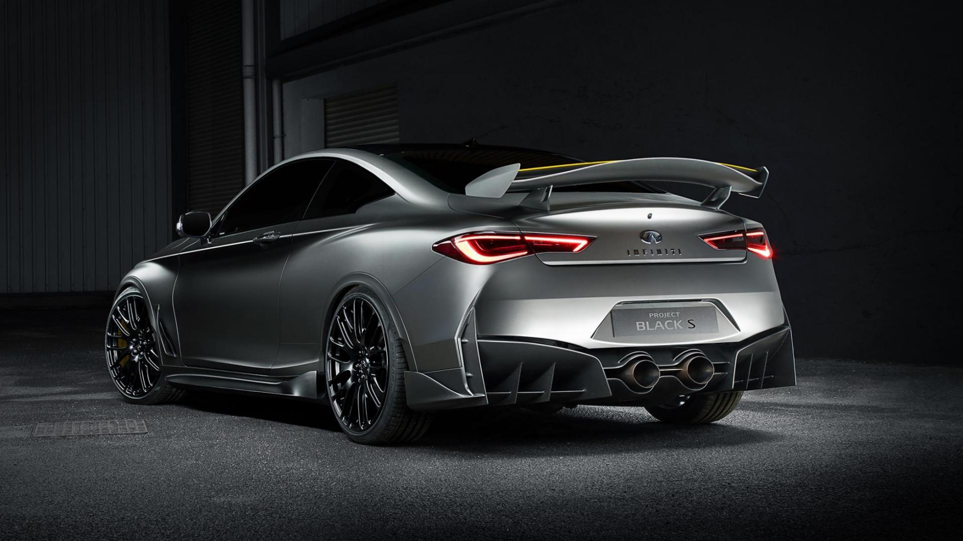 Infiniti Project Black S concept auto autosalon geneve