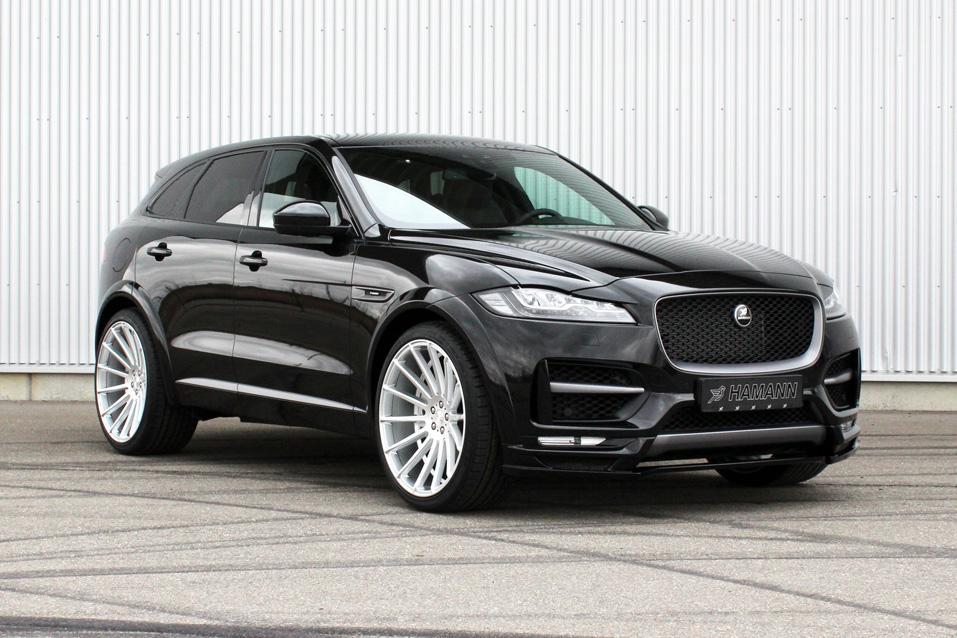 Jaguar F-Pace van Hamann 2017 autosalon van genève