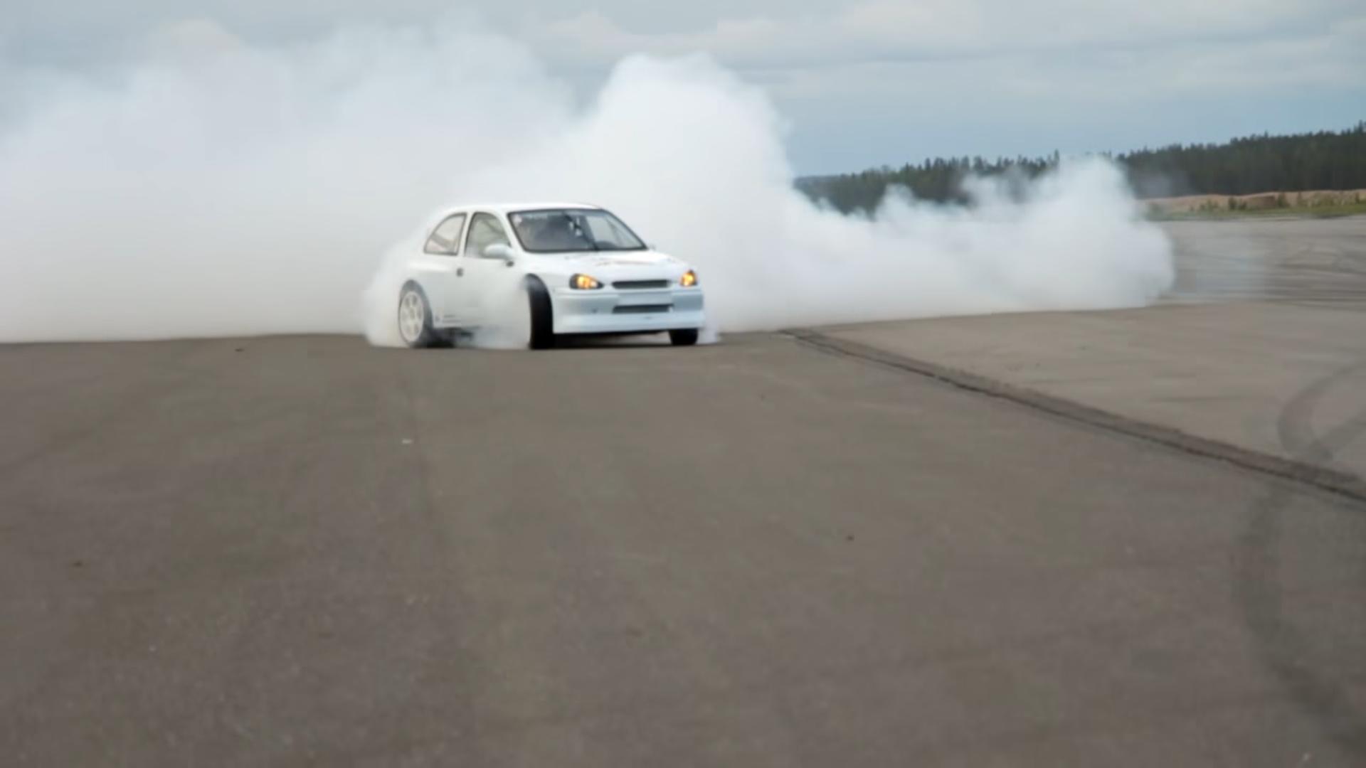 Opel Corsa 4x4 Drift