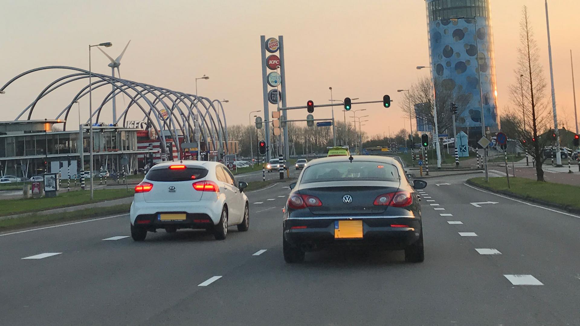 Verkeerslicht: groen is gas