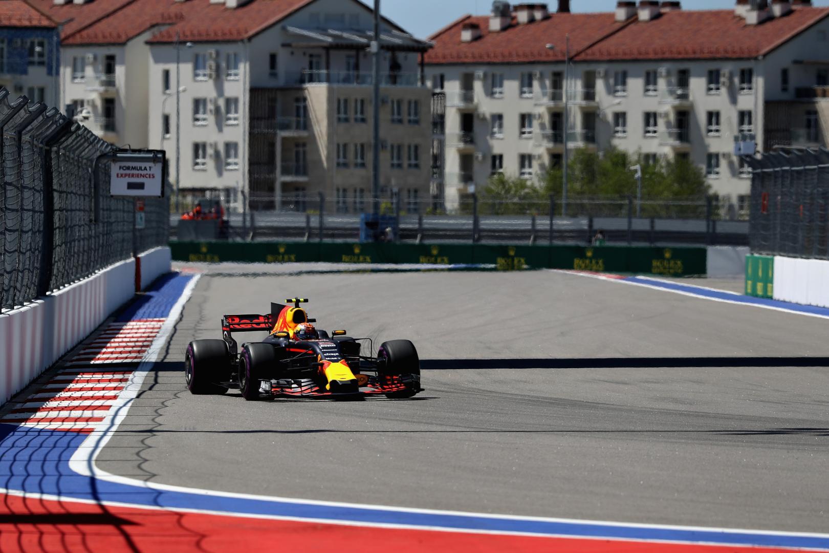 Uitslag van de GP van Rusland 2017