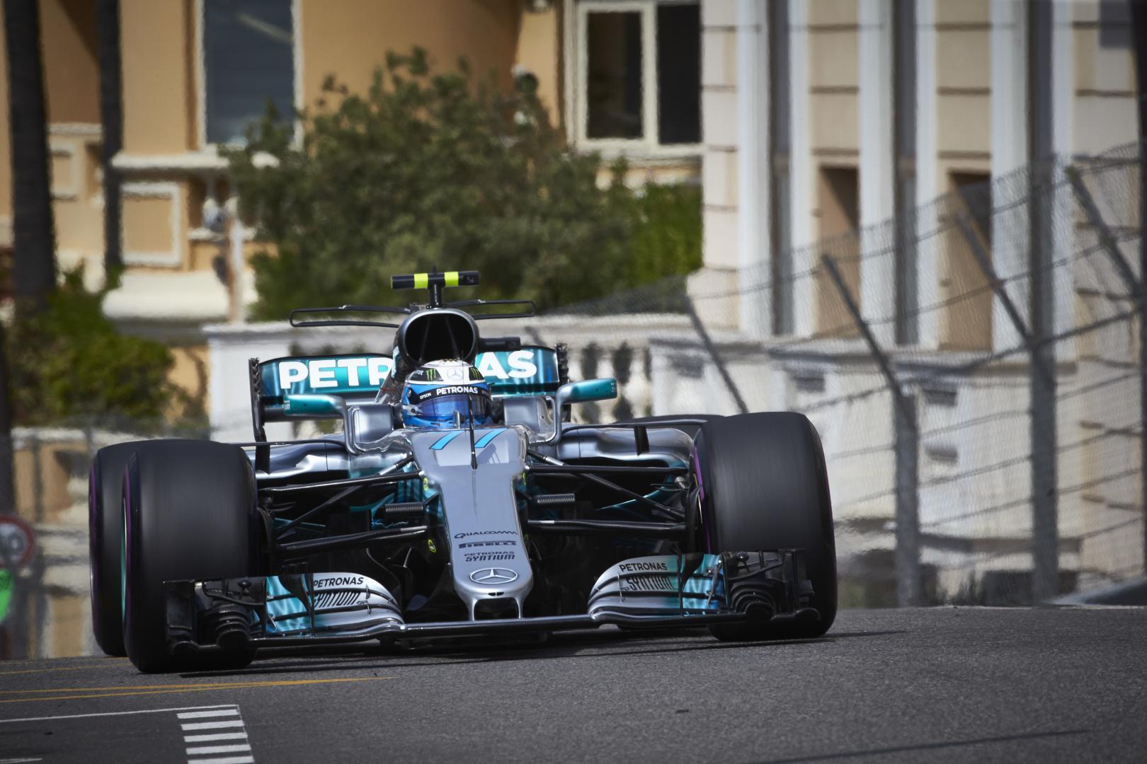3e vrije training van de GP van Monaco 2017