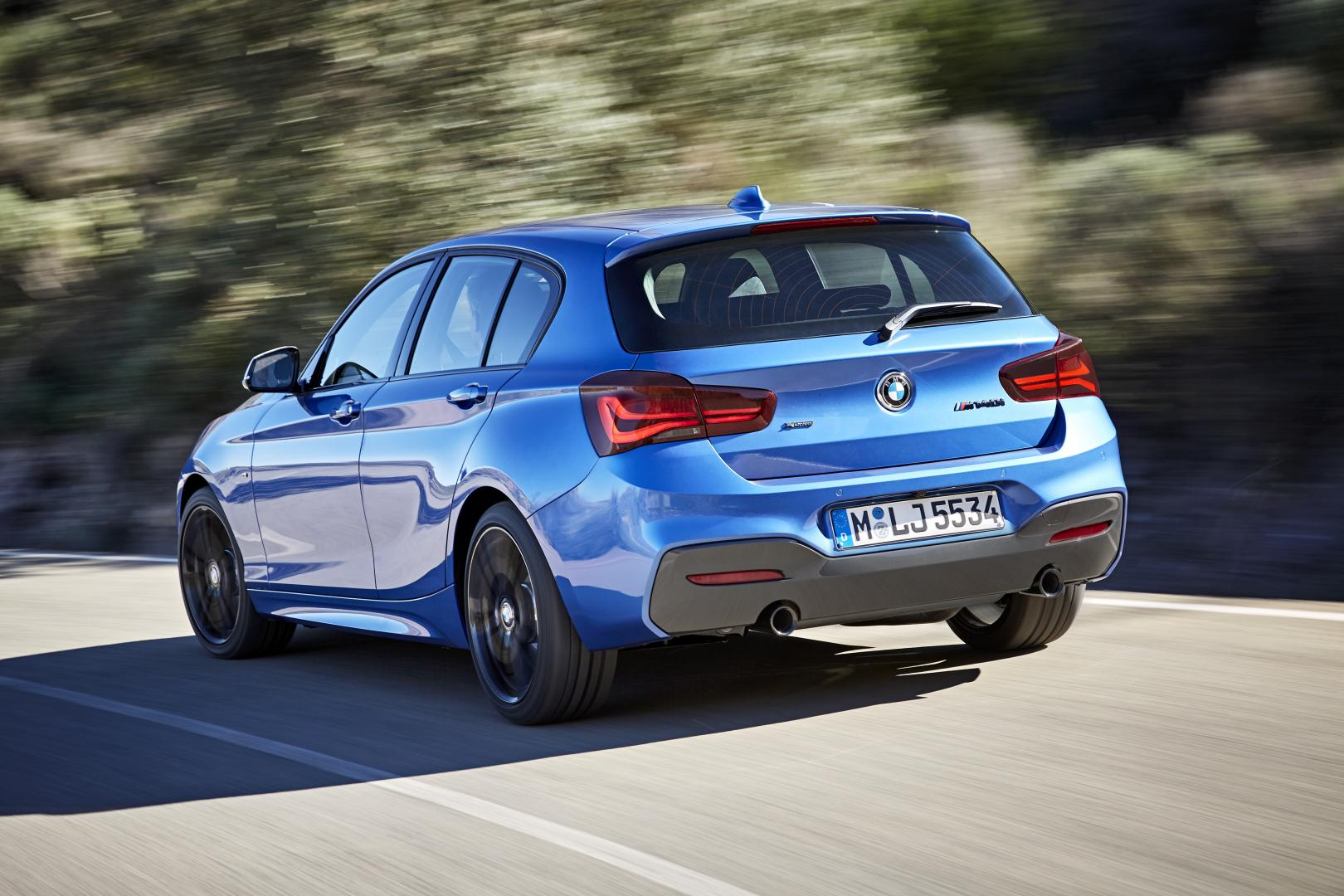 BMW 1-serie facelift