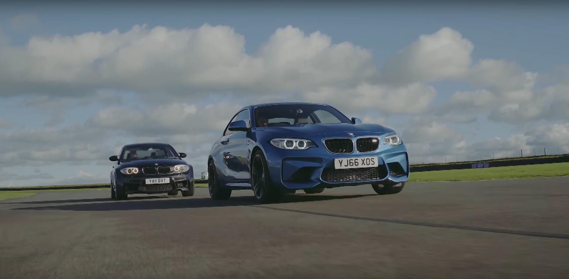 BMW M2 vs. BMW 1M Coupe
