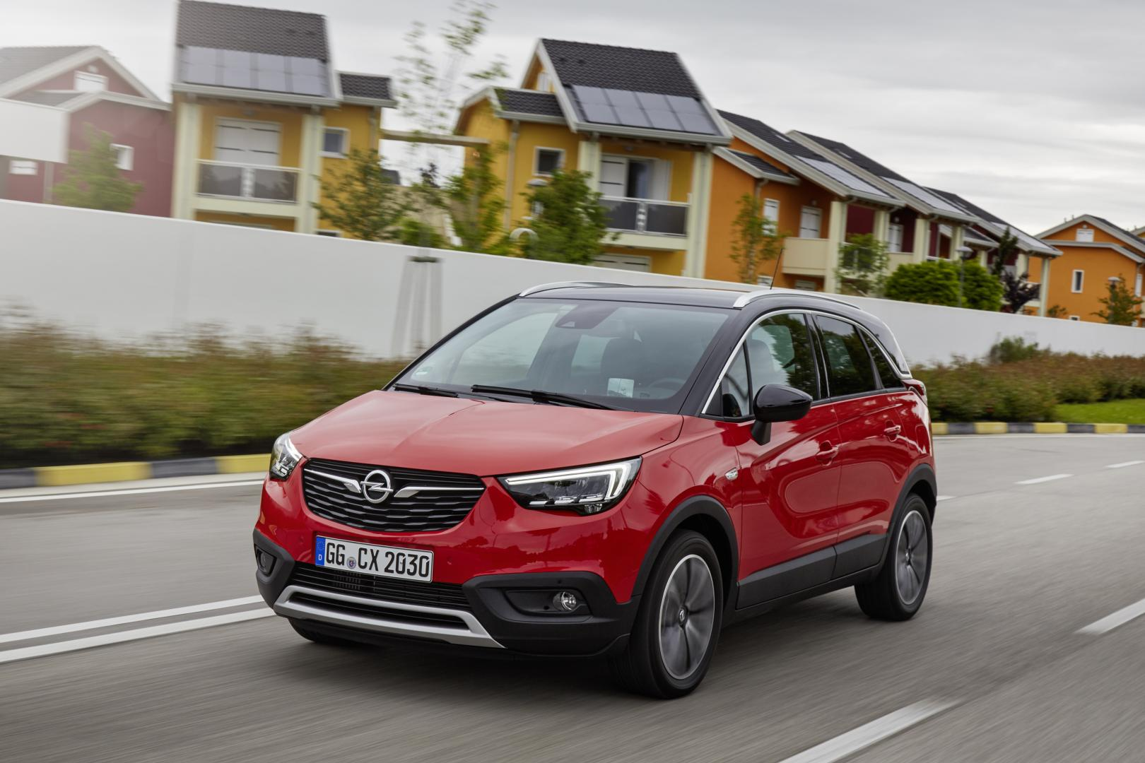opel crossland x 1e rij indruk topgear. Black Bedroom Furniture Sets. Home Design Ideas
