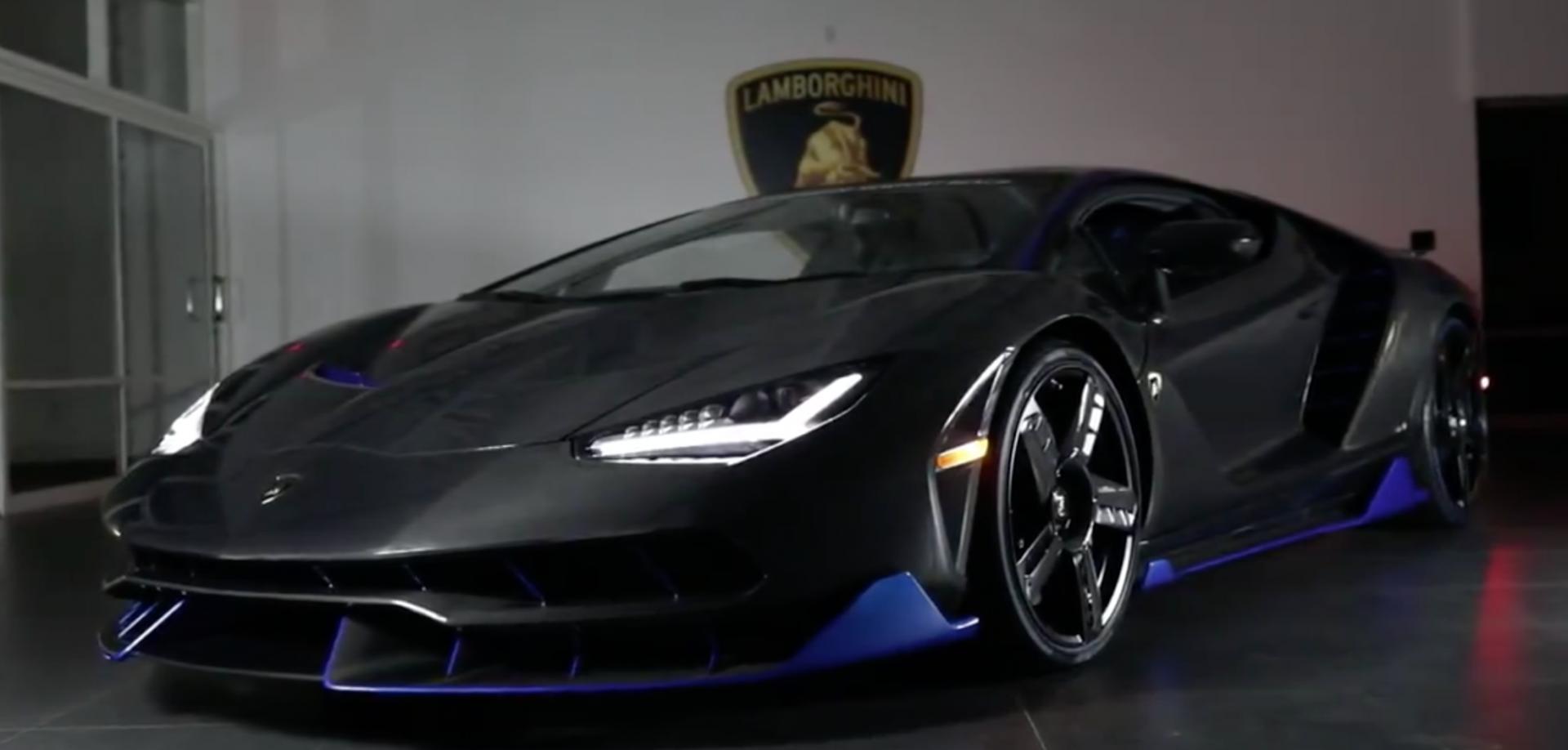 Dit is de eerste Lamborghini Centenario in the US ...