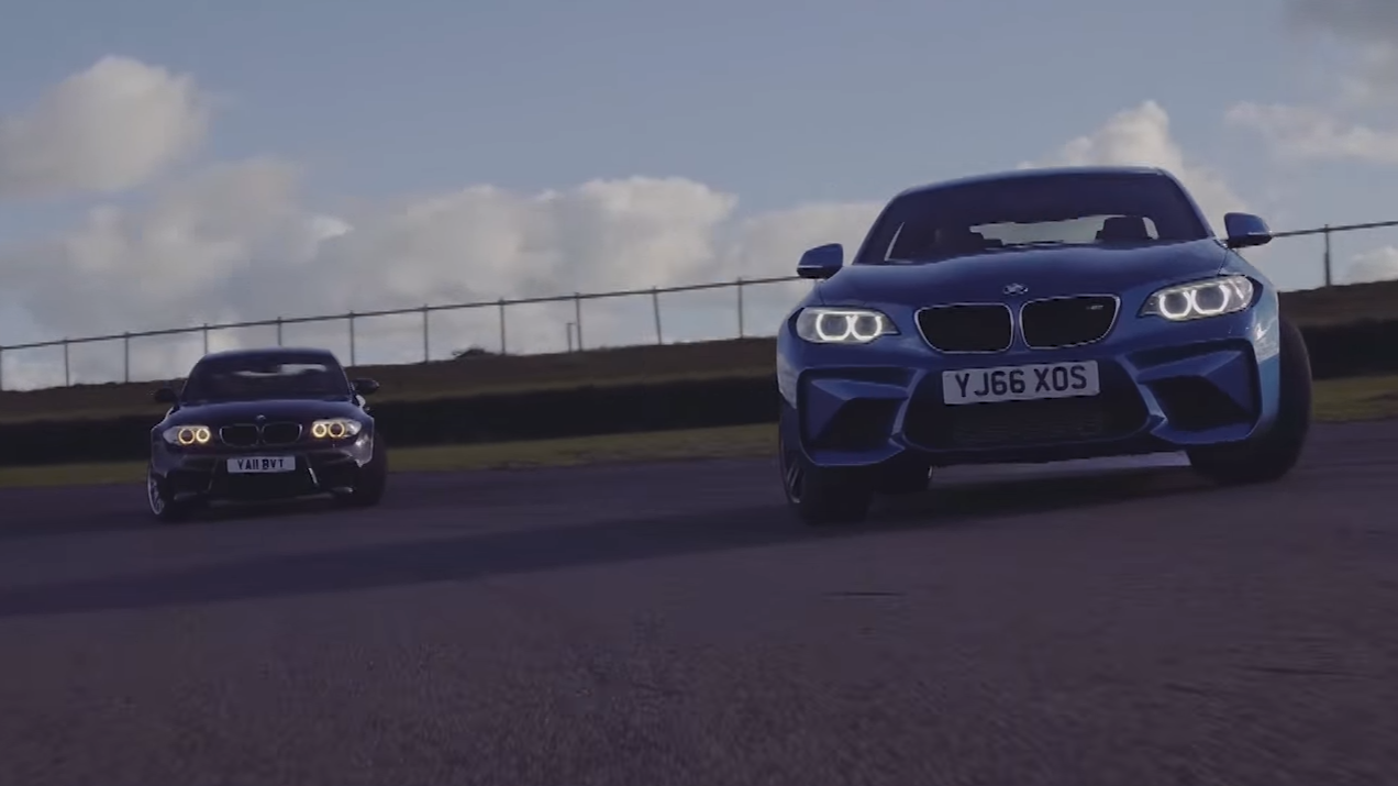 bmw m2 vs bmw 1m coupé