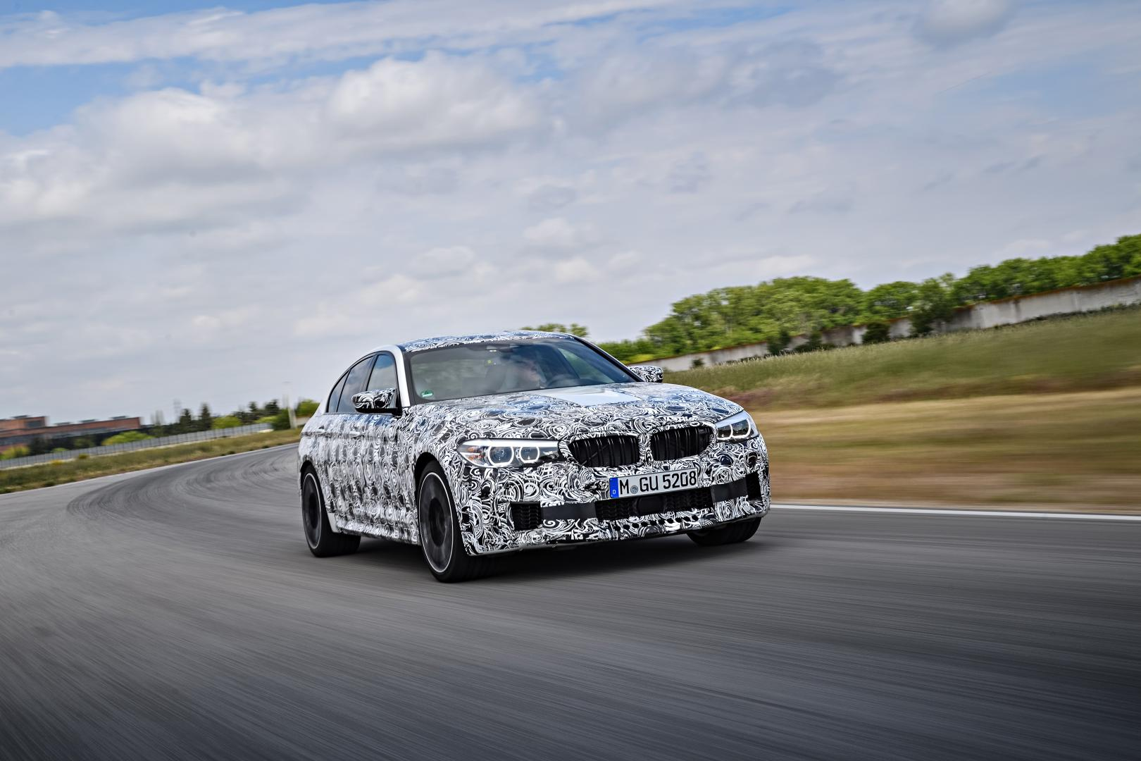 BMW M5 G30 drift 2017