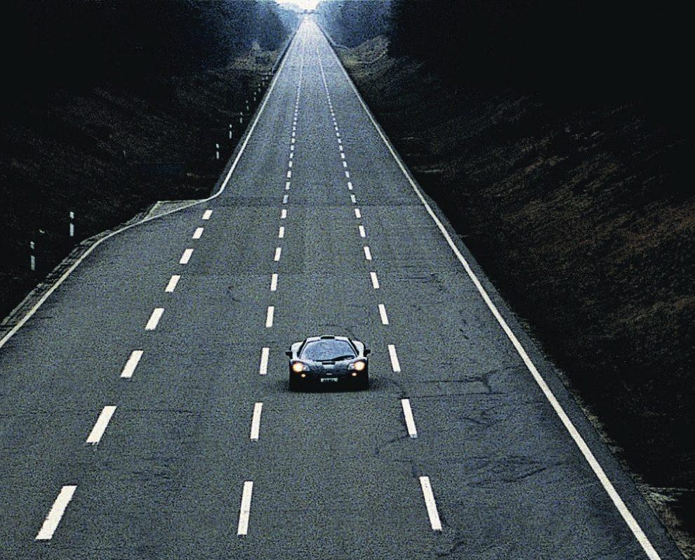Mclaren F1 topsnelheid