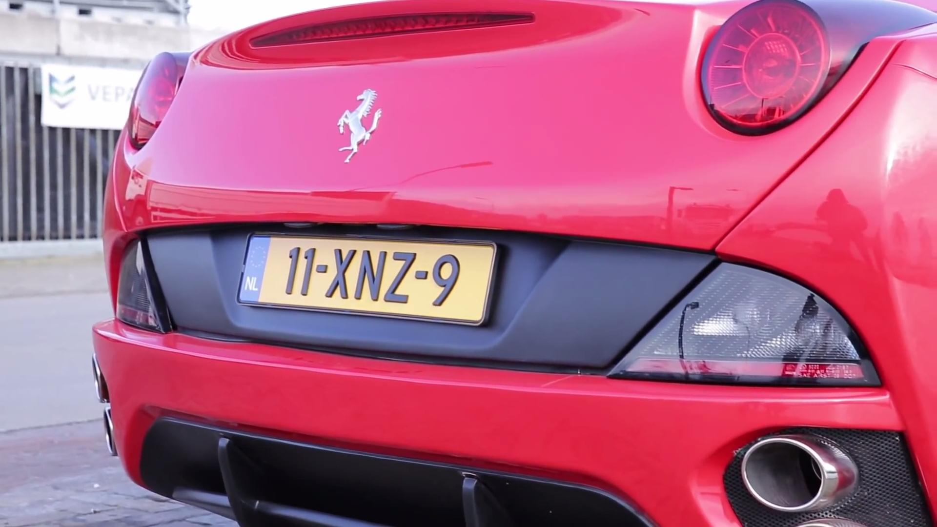 Wat klopt er niet aan deze Ferrari California
