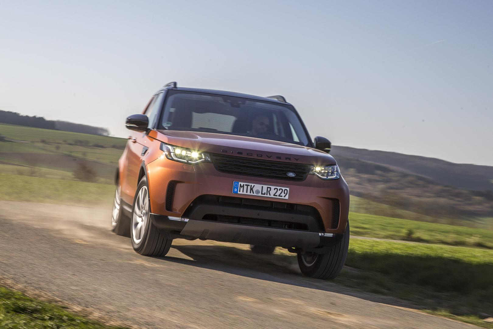 land rover discovery hse sd4 2017 test en specificaties topgear. Black Bedroom Furniture Sets. Home Design Ideas