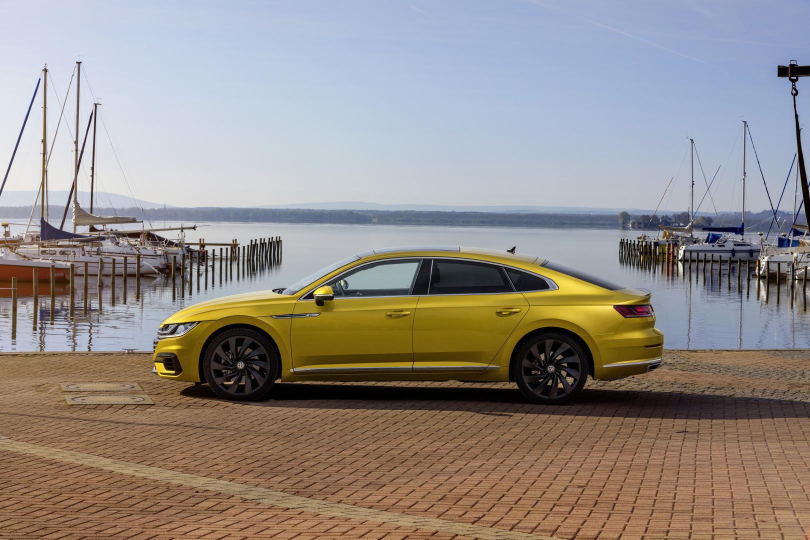 De Eerste Testkilometers Met De Nieuwe Volkswagen Arteon